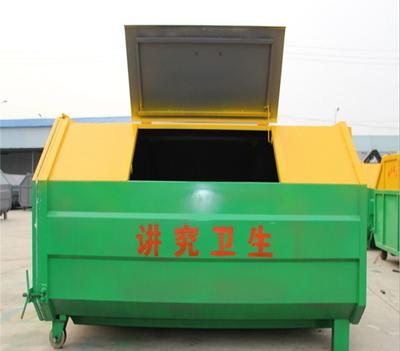 钢板移动垃圾箱